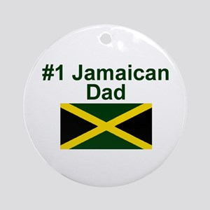 Jamaican #1 Dad Keepsake Ornament