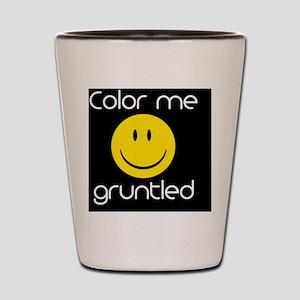 gruntled magnet Shot Glass
