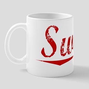 Swiger, Vintage Red Mug