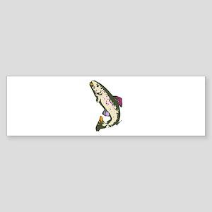 Jumping Fish Bumper Sticker