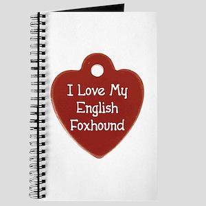 Love My Foxhound Journal