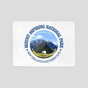 Mount Aspiring NP 5'x7'Area Rug