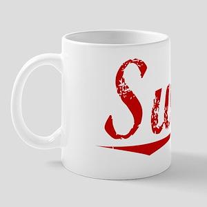 Swain, Vintage Red Mug