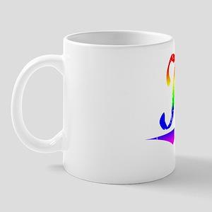 Kay, Rainbow, Mug