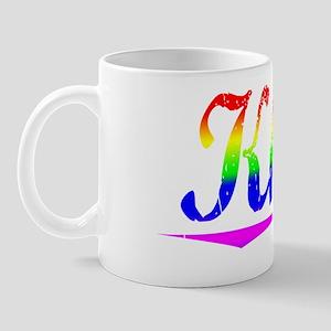 Khan, Rainbow, Mug