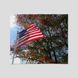 American Colors Throw Blanket