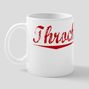 Throckmorton, Vintage Red Mug
