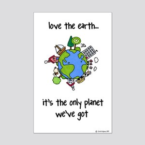 Earth Mini Poster Print