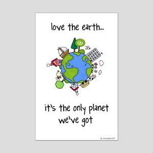 Earth Mini Poster Print
