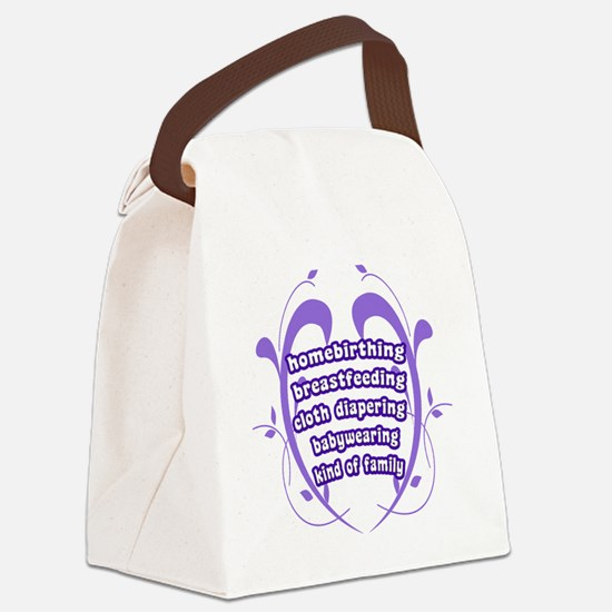 Crunchy Family Canvas Lunch Bag