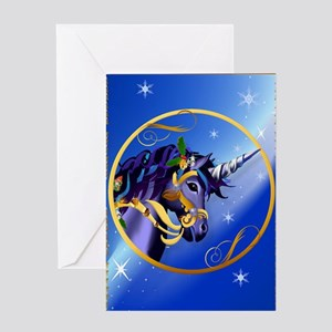 Jewel Another Magical Christmas Unic Greeting Card