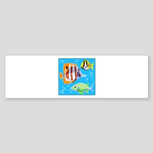 Saltwater Aquarium Fish Bumper Sticker