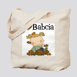 Autumn Girl I Love Babcia Tote Bag
