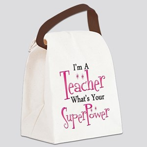 super teacher Canvas Lunch Bag