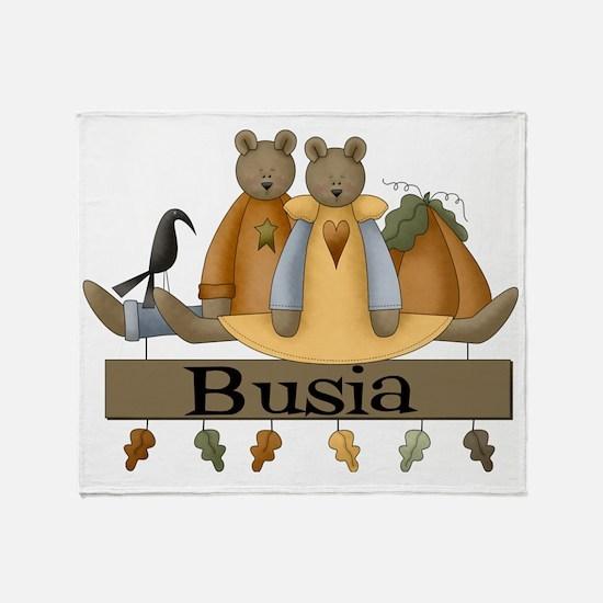 Autumn Busia Throw Blanket