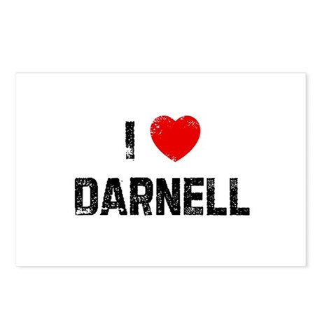I * Darnell Postcards (Package of 8)