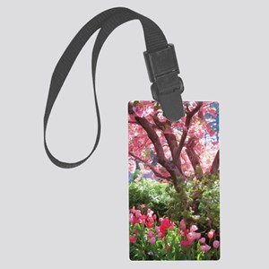 Cherry Tree 2 Large Luggage Tag