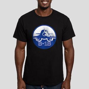 B-1B Lancer Men's Fitted T-Shirt (dark)