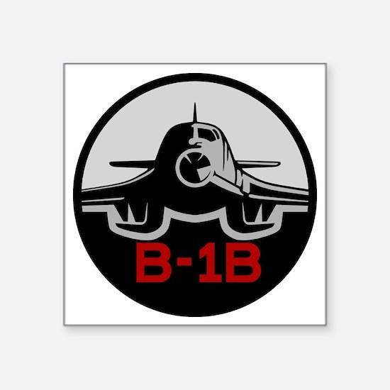 "B-1B Lancer Square Sticker 3"" x 3"""