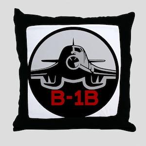 B-1B Lancer Throw Pillow