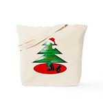 Christmas Santa's Deliverin' Tote Bag