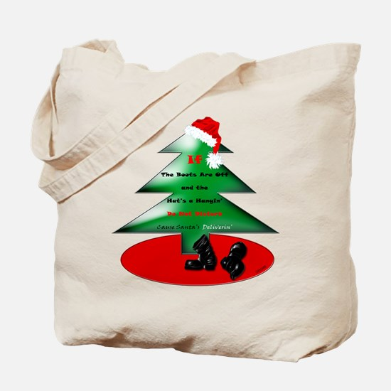Christmas Santa's Deliverin' Tote Bag