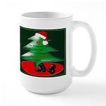 Christmas Santa's Deliverin' Large Mug