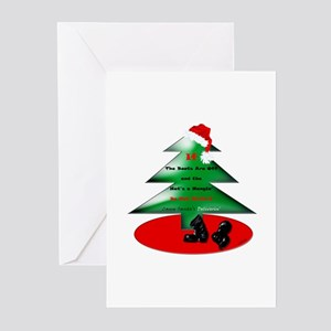Christmas Santa's Deliverin' Greeting Cards (Pk of