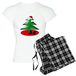 Christmas Santa's Deliverin' Women's Light Pajamas