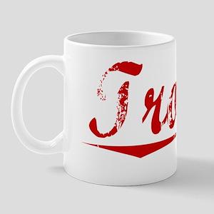 Trojan, Vintage Red Mug
