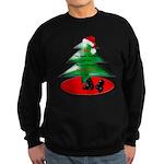 Christmas Santa's Deliverin' Sweatshirt (dark)