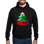 Christmas Santa's Deliverin' Hoodie (dark)