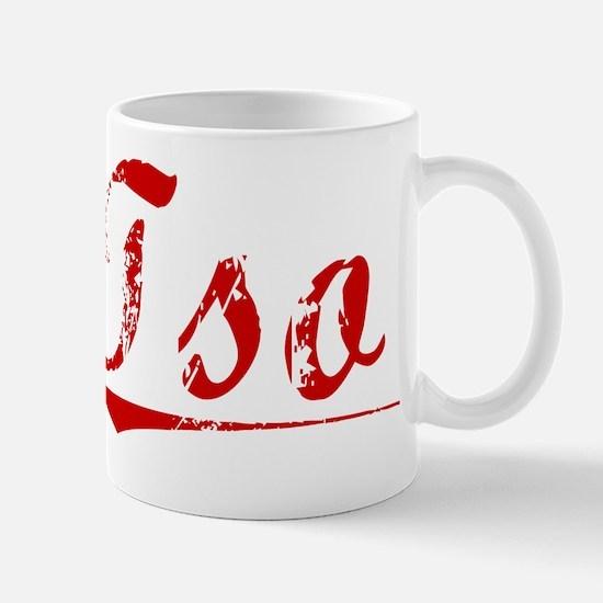 Tso, Vintage Red Mug