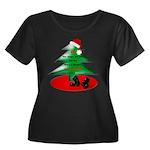 Christmas Santa's Deliverin' Women's Plus Size Sco