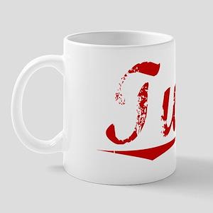 Tubbs, Vintage Red Mug