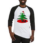 Christmas Santa's Deliverin' Baseball Jersey