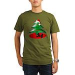 Christmas Santa's Deliverin' Organic Men's T-Shirt