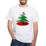 Christmas Santa's Deliverin' White T-Shirt