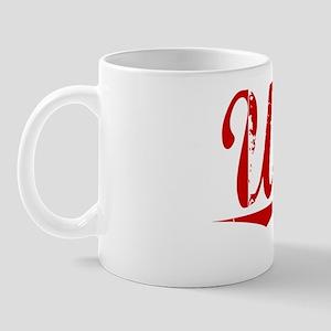 Utley, Vintage Red Mug