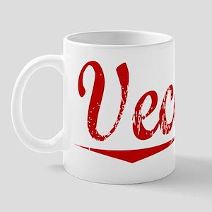 Vecchio, Vintage Red Mug