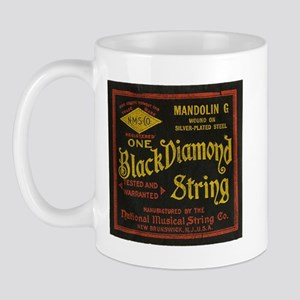 Black Diamond Vintage String ad Mug