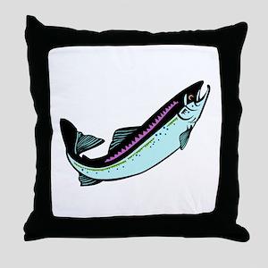Snook Fish Throw Pillow
