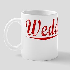 Weddington, Vintage Red Mug