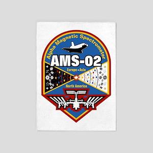 AMS-02 5'X7'area Rug