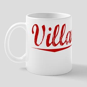 Villanueva, Vintage Red Mug
