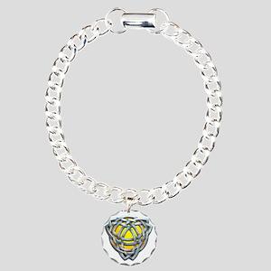 Naumadds Triquetra - Sil Charm Bracelet, One Charm
