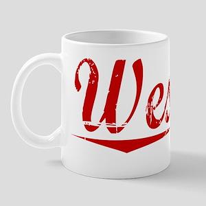Wesson, Vintage Red Mug