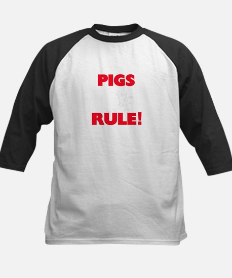 Pigs Rule! Baseball Jersey