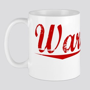 Wareham, Vintage Red Mug