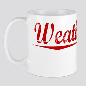 Weatherford, Vintage Red Mug